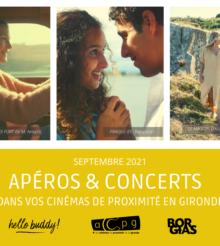 Apéros-concerts dans les cinémas de Gironde